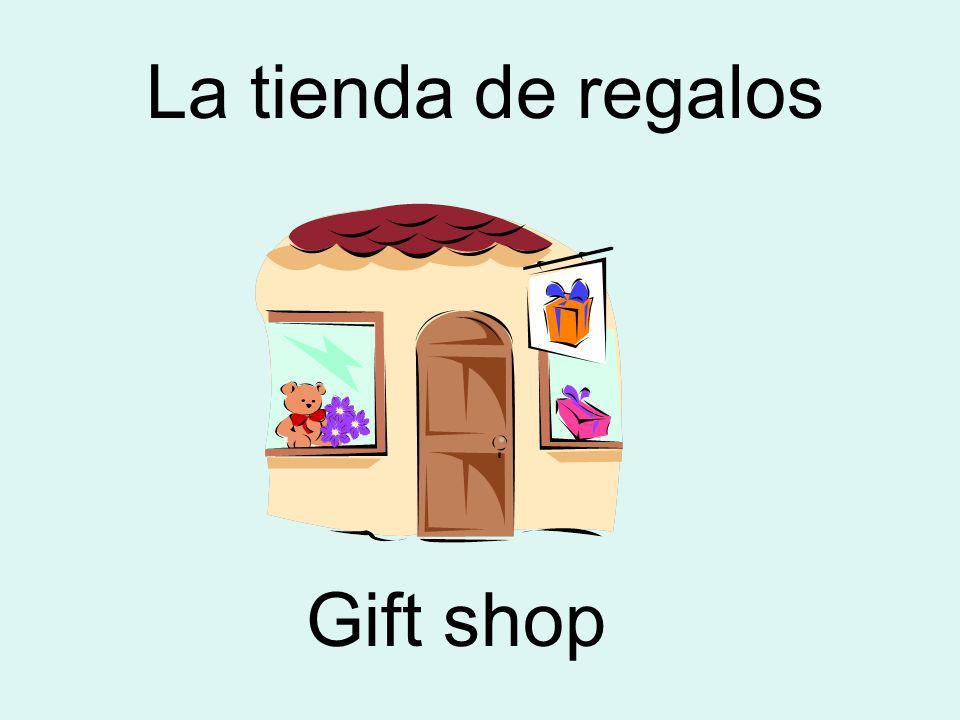 La tienda de regalos Gift shop