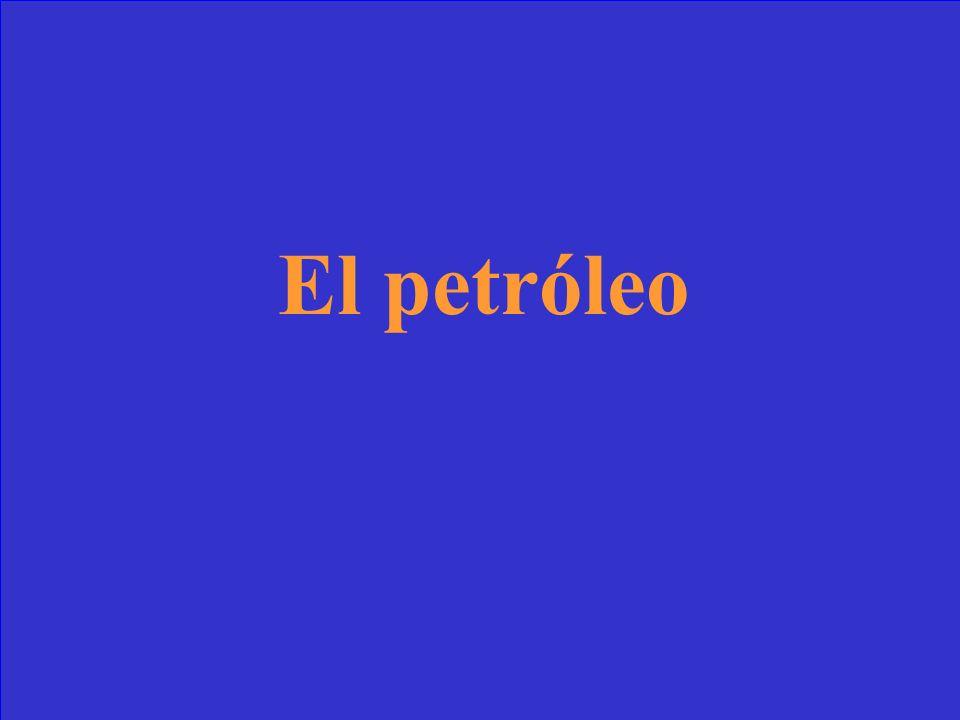 El producto más importante de Venezuela es ________
