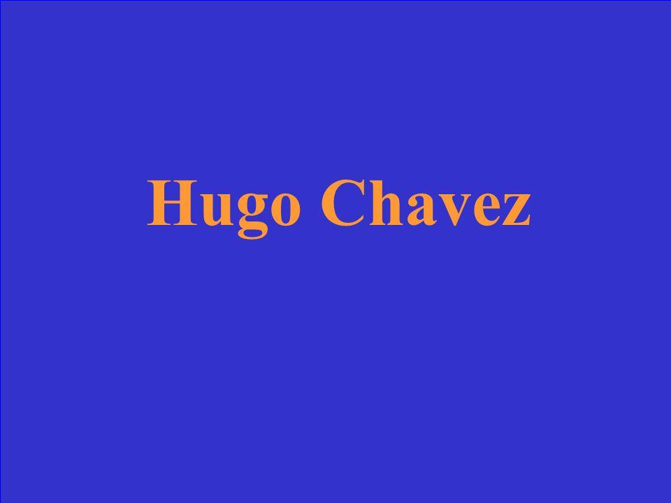 ¿Quién es el presidente de Venezuela