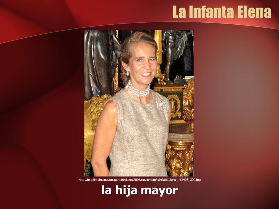 La Infanta Elena la hija mayor http://img.timeinc.net/pespanol/i/ultimo/2007/noviembre/lainfantaelena_111407_300.jpg