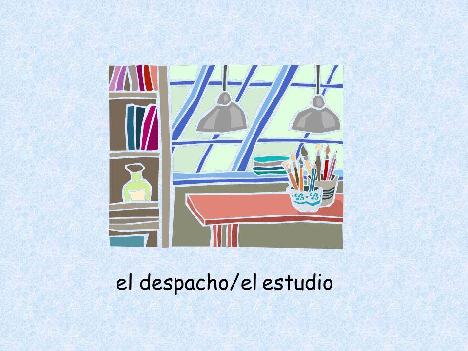 el despacho/el estudio
