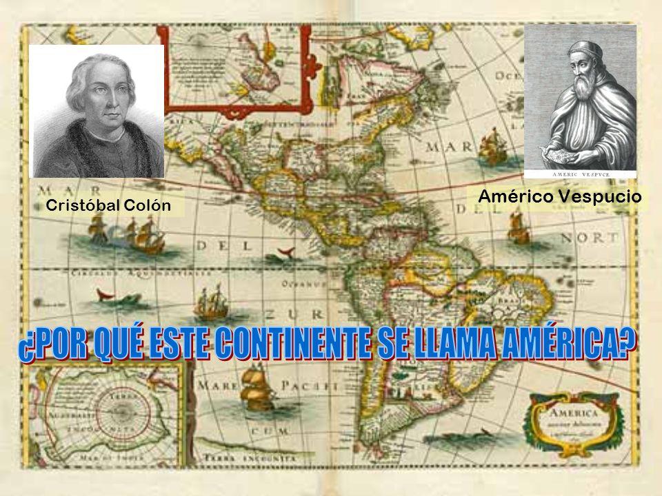 Américo Vespucio Cristóbal Colón