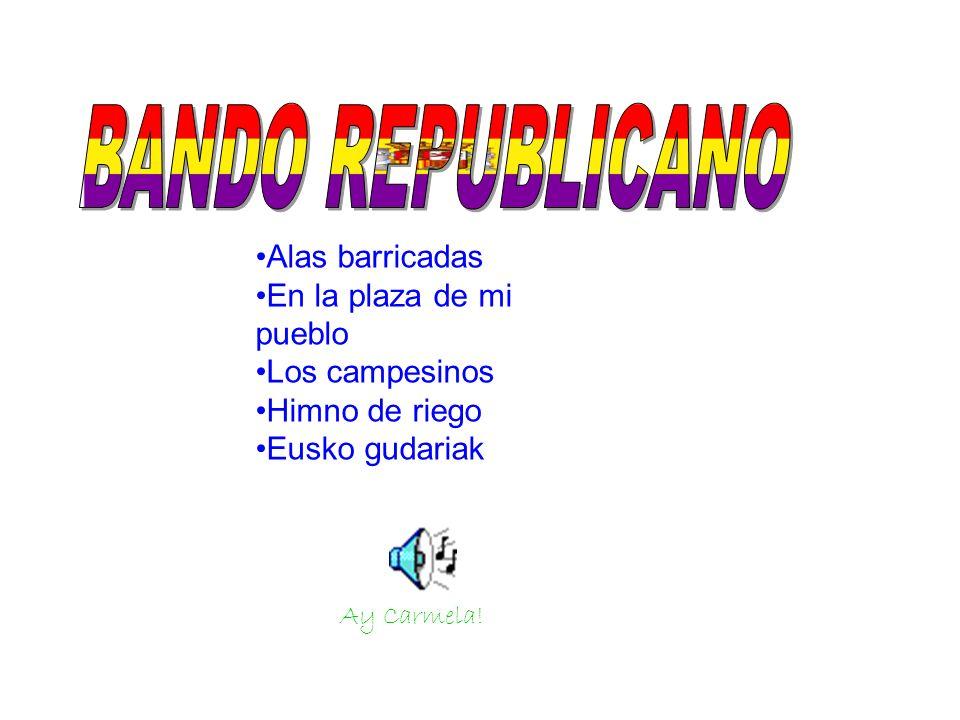 Lleva como blasón en el centro de la franja amarilla el escudo de la Segunda Republica Española.
