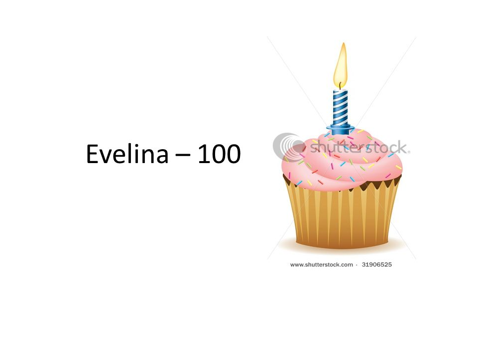 Evelina – 100
