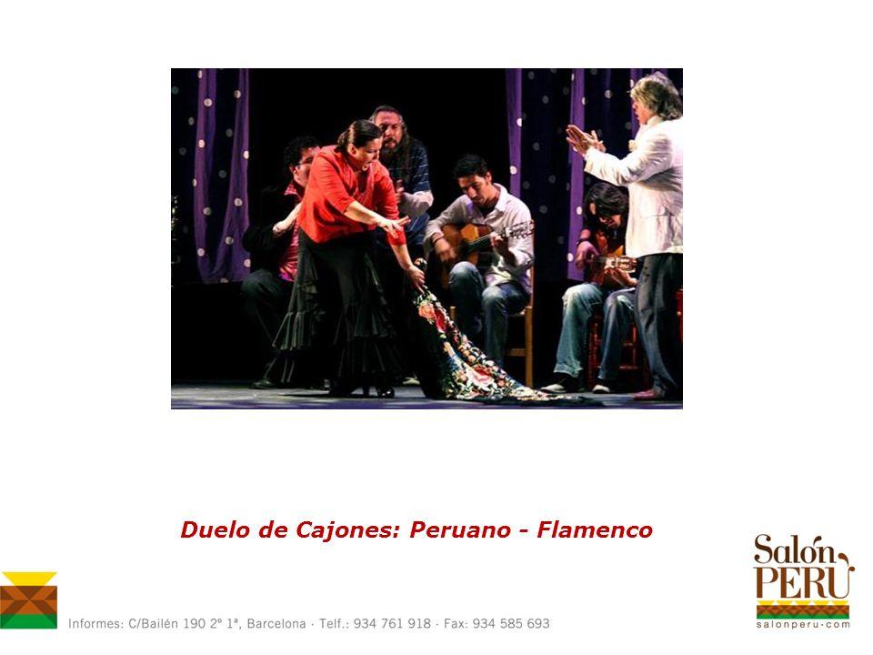 Duelo de Cajones: Peruano - Flamenco