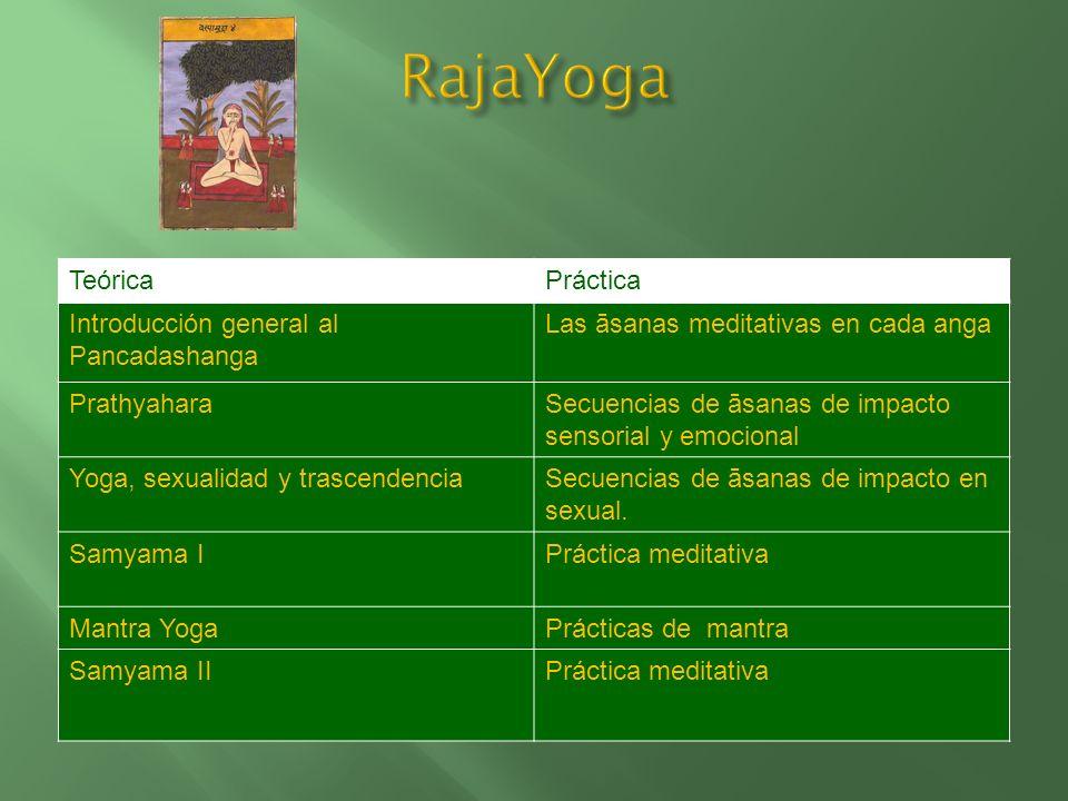 TeóricaPráctica El yoga desde su potencial profiláctico y preventivo a la salud Secuencias de āsanas y respiración con efectos terapéuticos Yoga y nut
