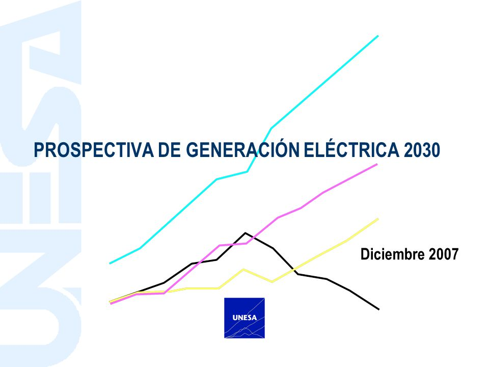 PROSPECTIVA DE GENERACIÓN ELÉCTRICA 2030 Diciembre 2007