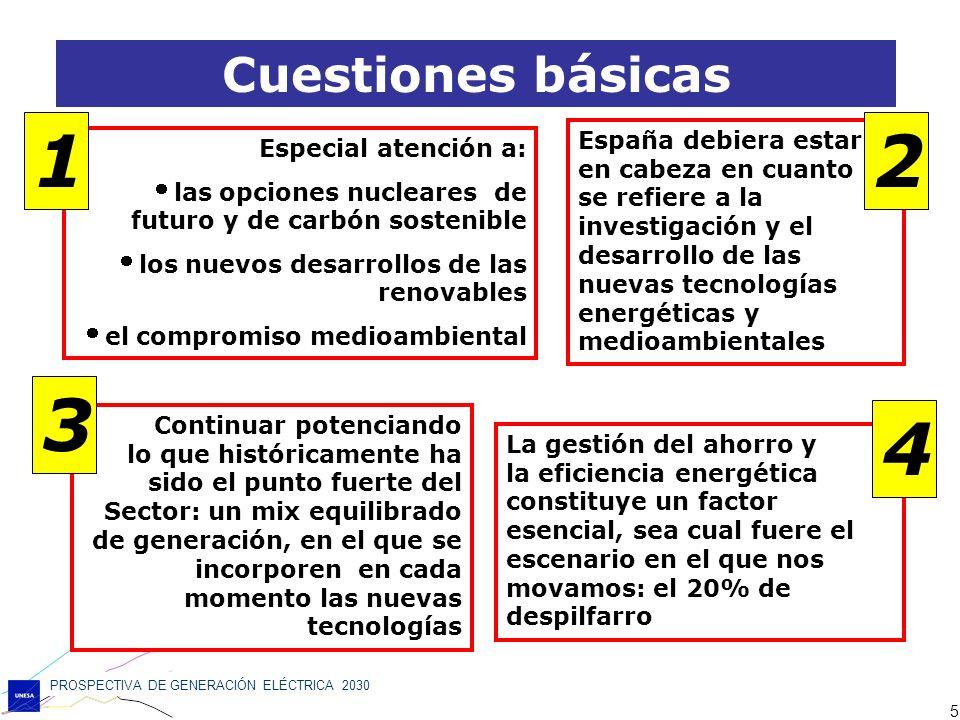 PROSPECTIVA DE GENERACIÓN ELÉCTRICA 2030 36 Muchas gracias por su atención www.unesa.es Prospectiva de generación eléctrica 2030