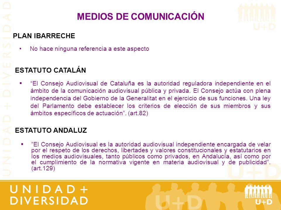 MEDIOS DE COMUNICACIÓN El Consejo Audiovisual es la autoridad audiovisual independiente encargada de velar por el respeto de los derechos, libertades