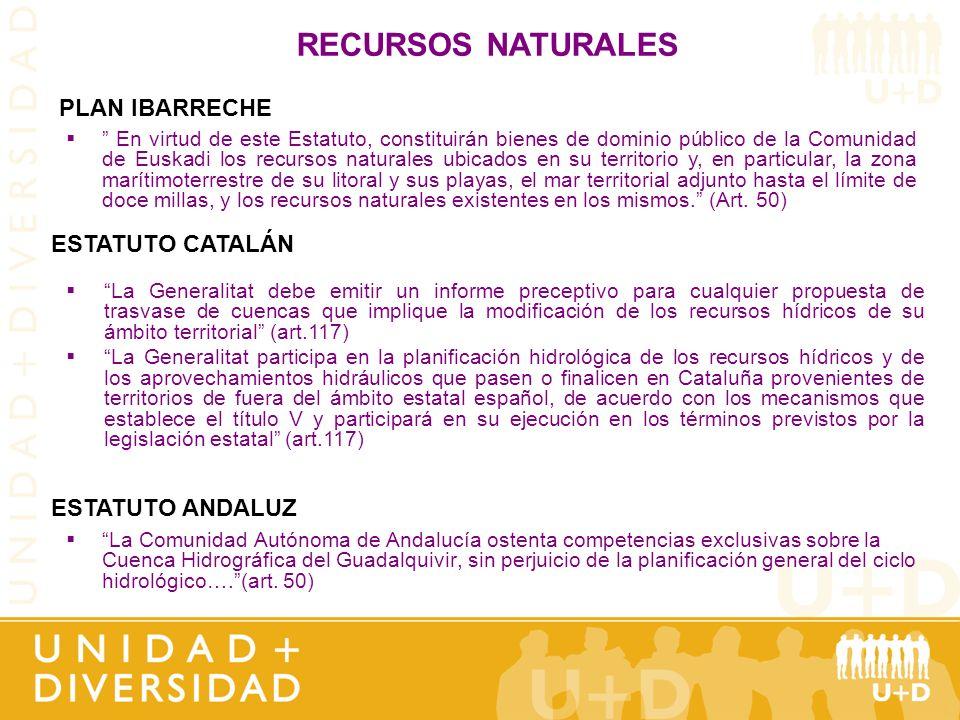 La Comunidad Autónoma de Andalucía ostenta competencias exclusivas sobre la Cuenca Hidrográfica del Guadalquivir, sin perjuicio de la planificación ge