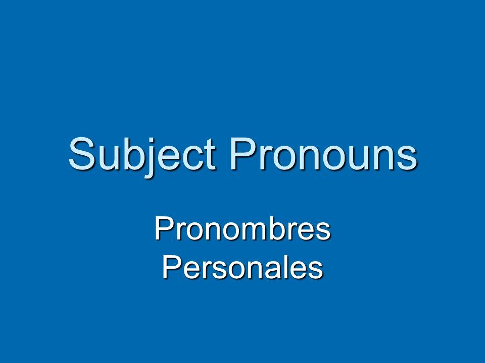 Los Sustantivos Nouns Nouns refieren a personas, animales, lugares y cosas refieren a personas, animales, lugares y cosas Always use the in Spanish: el, la, los, las Always use the in Spanish: el, la, los, las