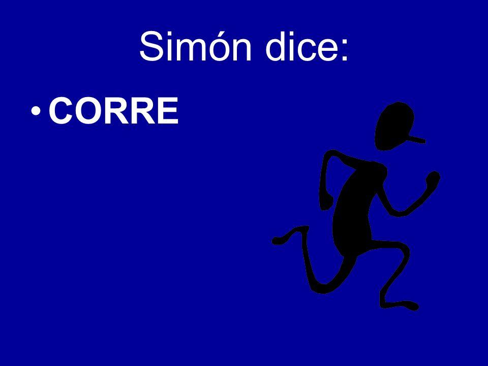 Simón dice: CORRE