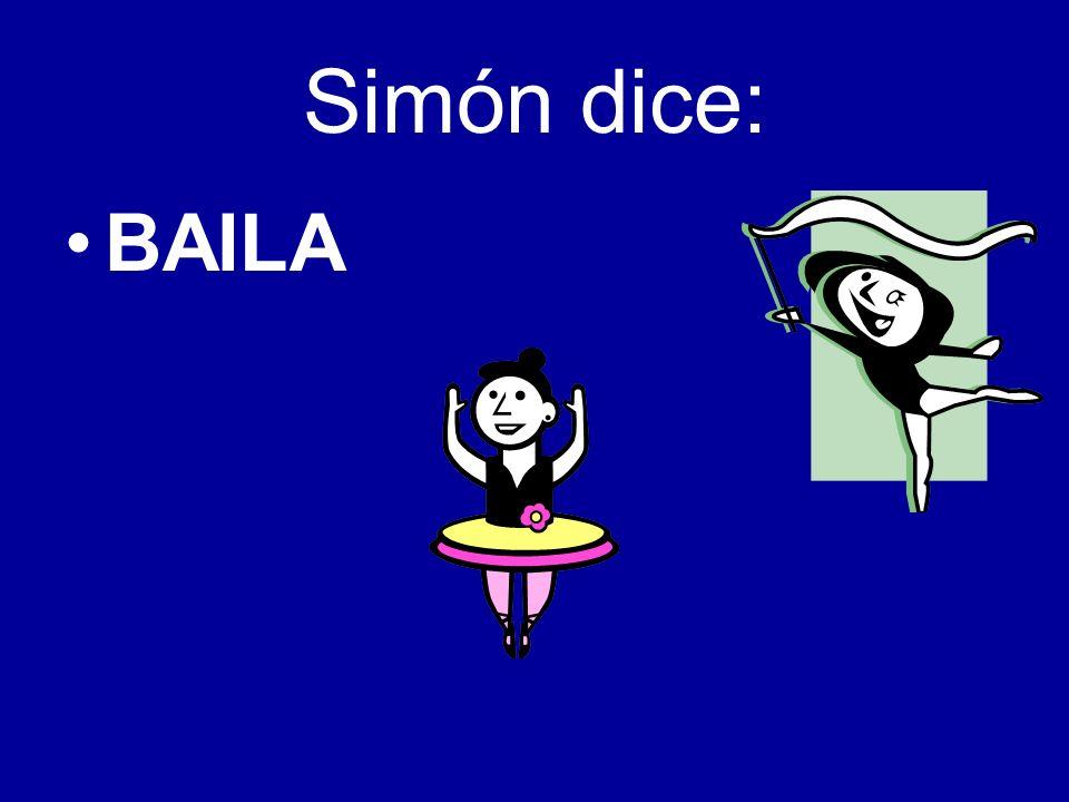 Simón dice: BAILA