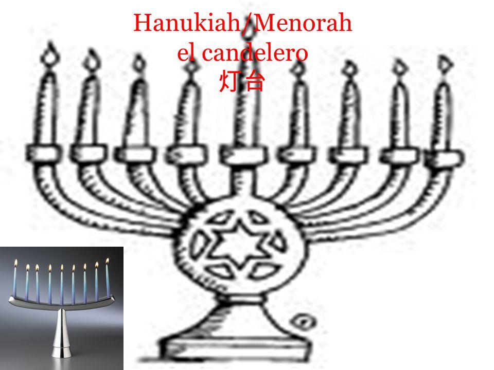 Hanukiah/Menorah el candelero