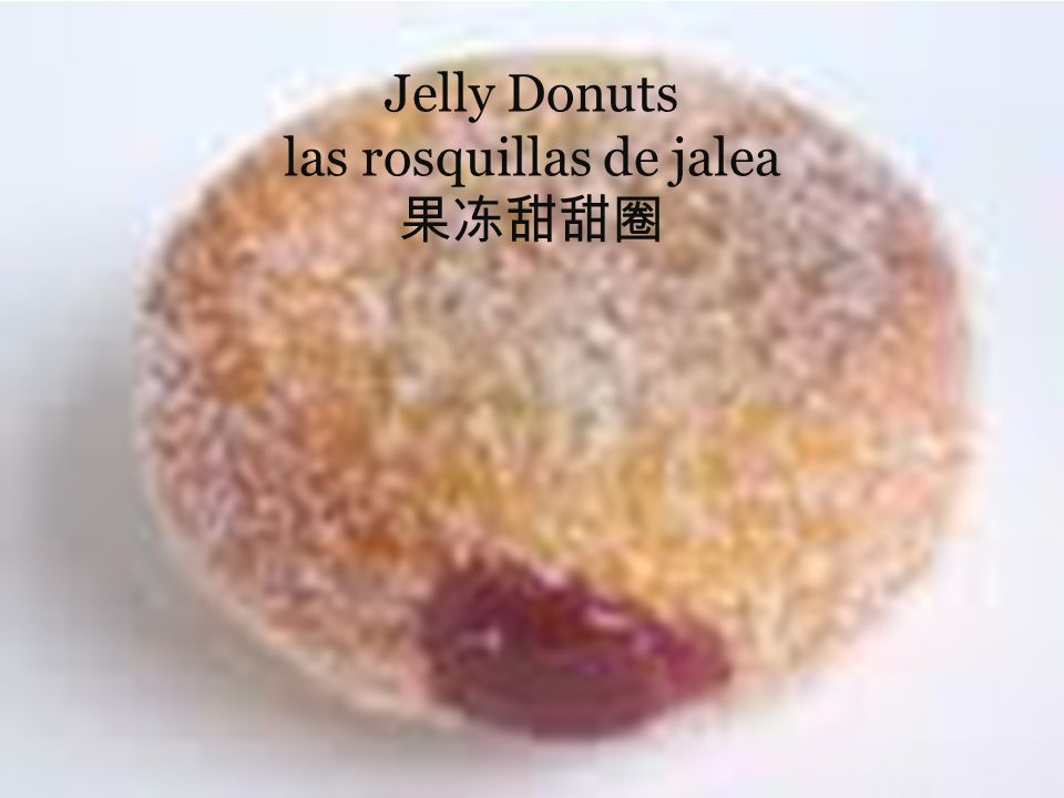 Jelly Donuts las rosquillas de jalea