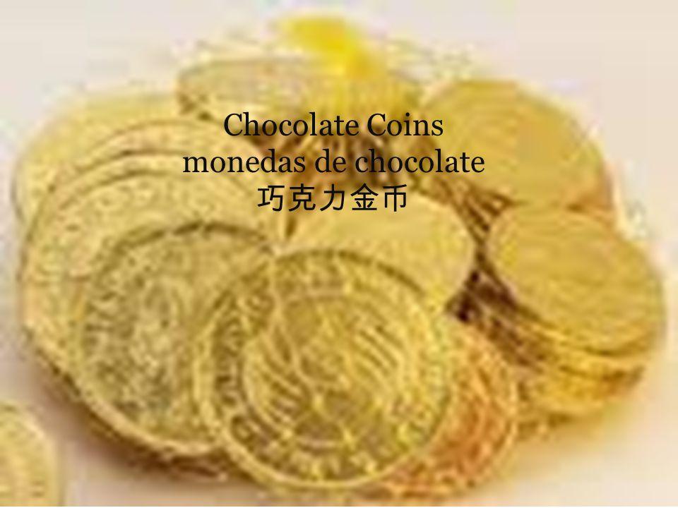 Chocolate Coins monedas de chocolate