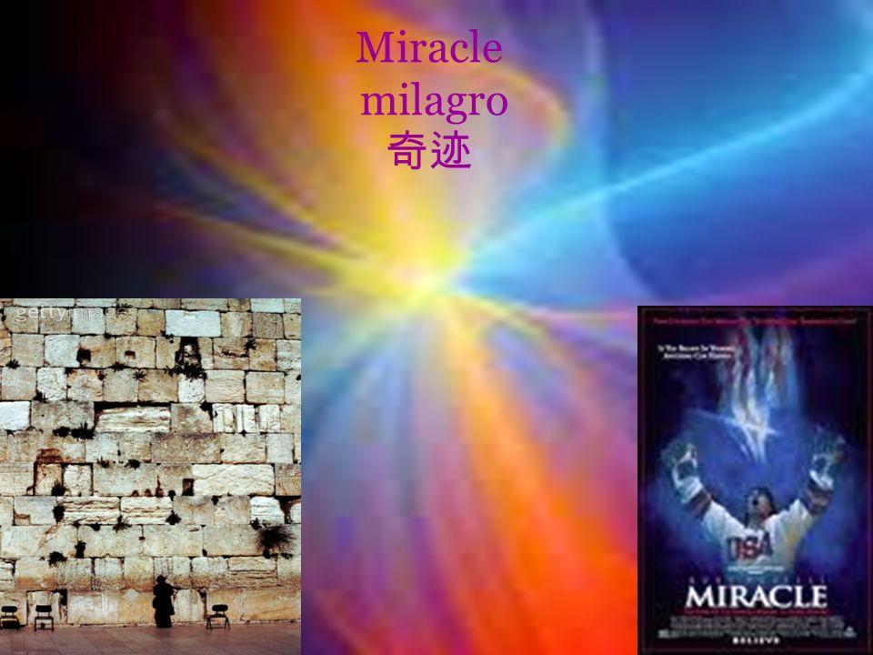 Miracle milagro