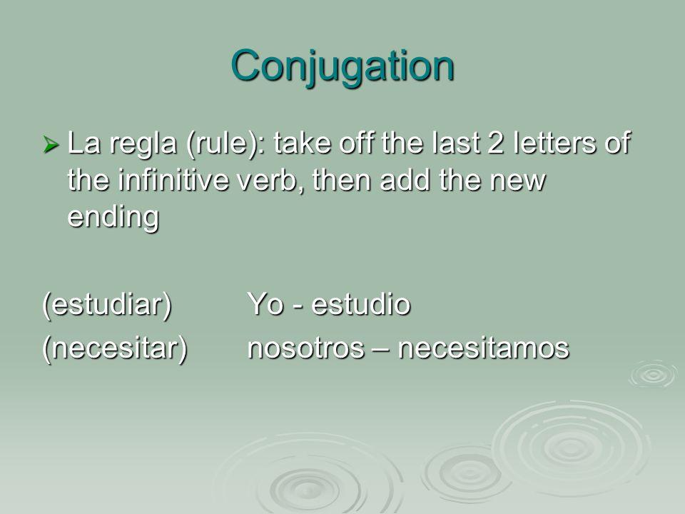 Review of –er verbs comprender: conjuga comprender: conjuga