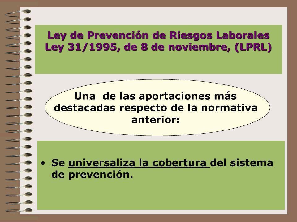 Universalidad de la cobertura En el ámbito del estatuto de los trabajadores: relaciones laborales.