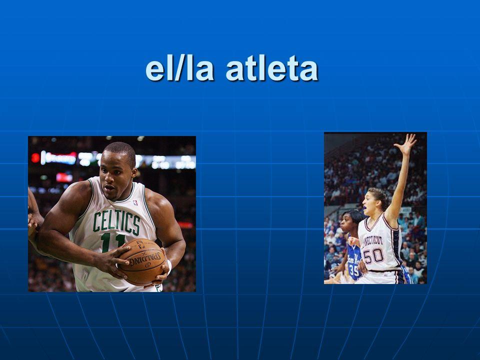 el/la atleta