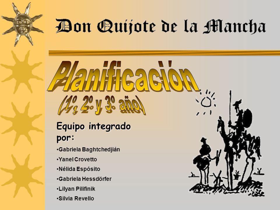 Los docentes de Informática Educativa de Zona Este, orientados por la Maestra Inspectora Elizabeth Muniz, hemos acordado realizar un Proyecto para conmemorar el IV Centenario de Don Quijote de La Mancha.