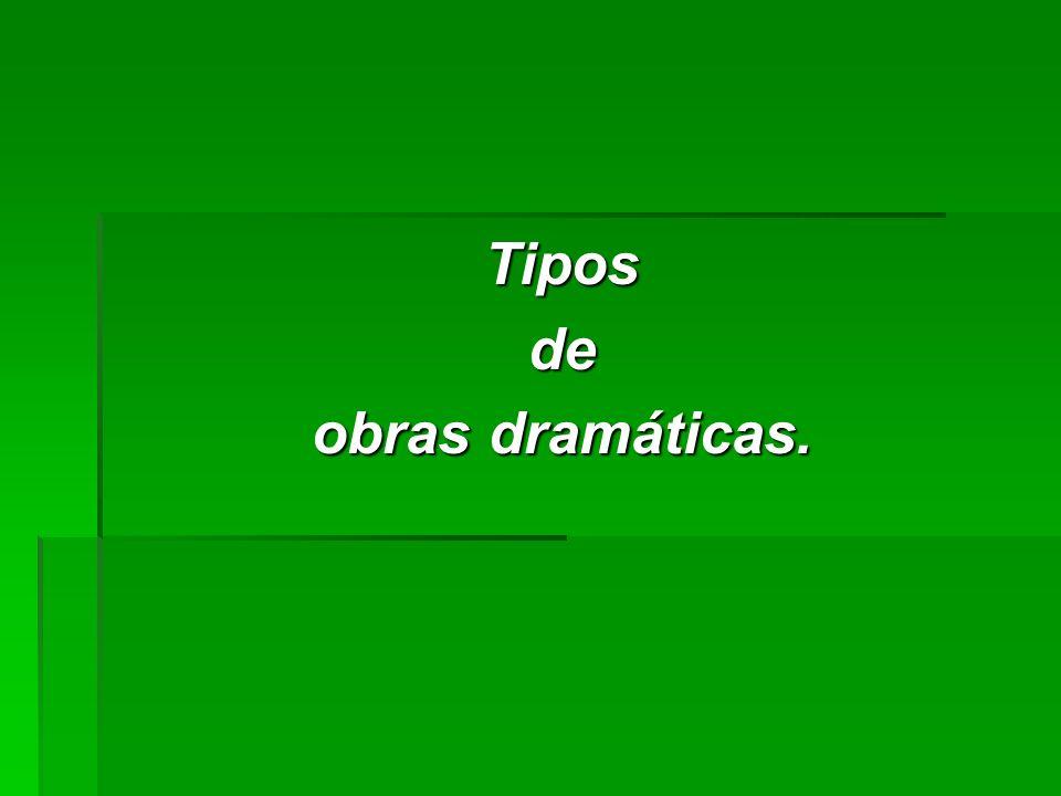 Instancias dramáticas (3): Presentación del conflicto.