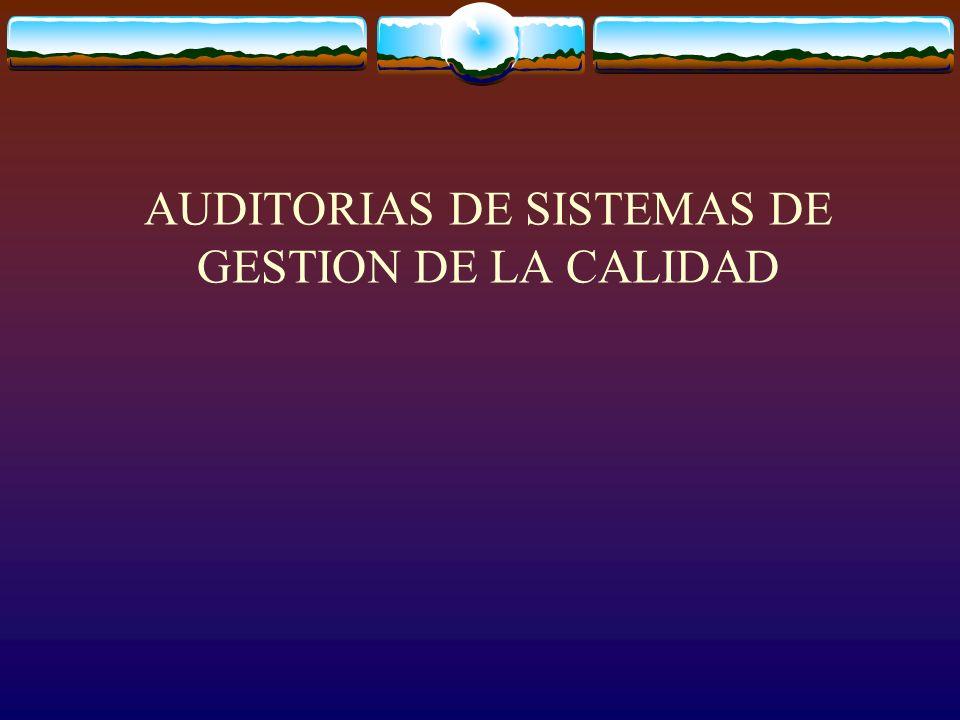 8.2.2 AUDITORIA INTERNA LA ORGANIZACIÓN DEBE LLEVAR A CABO A INTERVALOS PLANIFICADOS AUDITORIAS INTERNAS PARA DETERMINAR SI EL SISTEMA DE GESTION DE LA CALIDAD: a) ES CONFORME CON LAS DISPOSICIONES PLANIFICADAS CON LOS REQUISITOS DE ESTA NORMA INTERNACIONAL Y CON LOS REQUISITOS DEL SISTEMA DE GESTION DE LA CALIDAD ESTABLECIDOS POR LA ORGANIZACIÓN.
