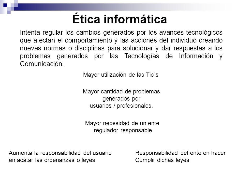 La ética de información trata todo lo relacionado con el uso y mal uso de la información.