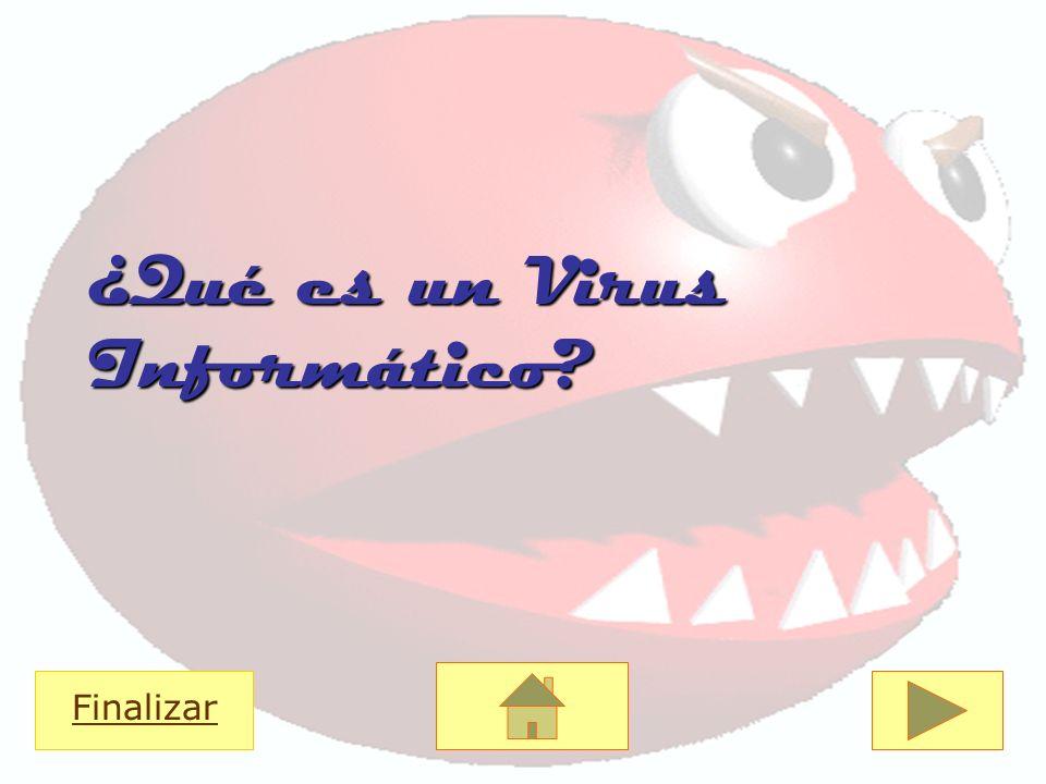 ¿Qué es un Virus Informático? Finalizar