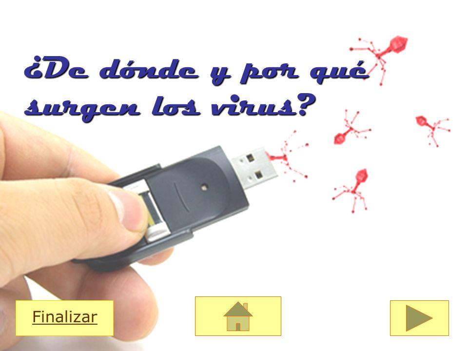 ¿De dónde y por qué surgen los virus? Finalizar