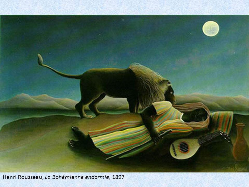 Henri Rousseau, La Bohémienne endormie, 1897