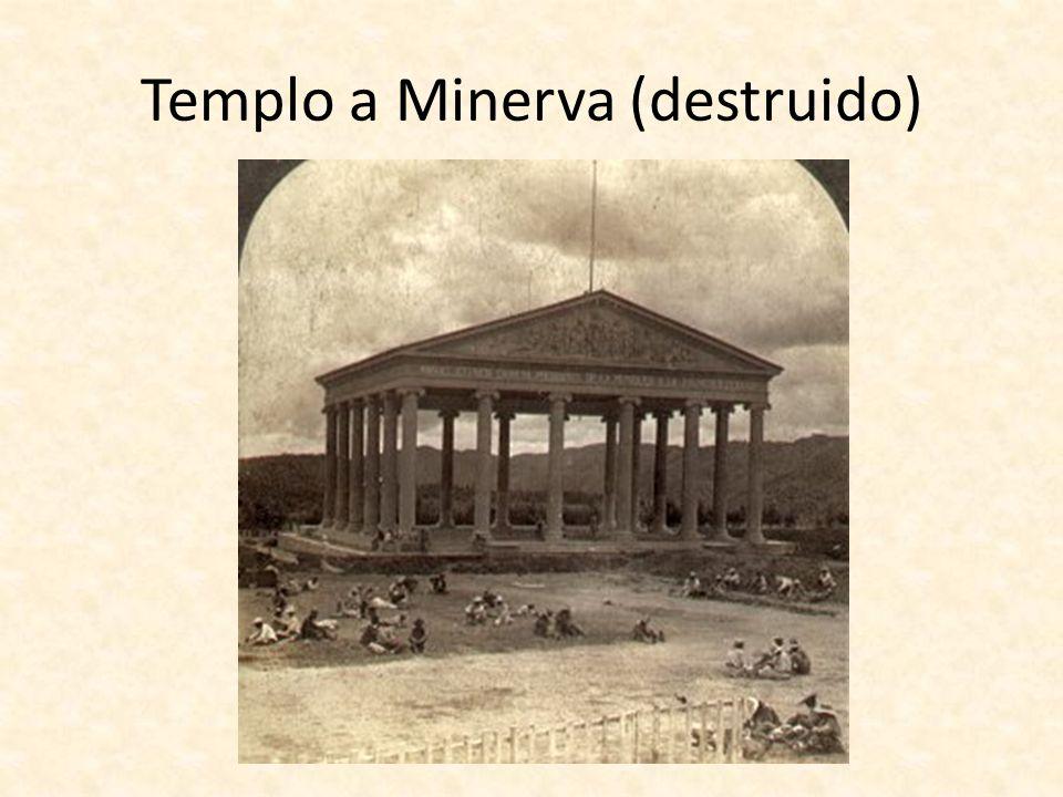 Templo a Minerva (destruido)