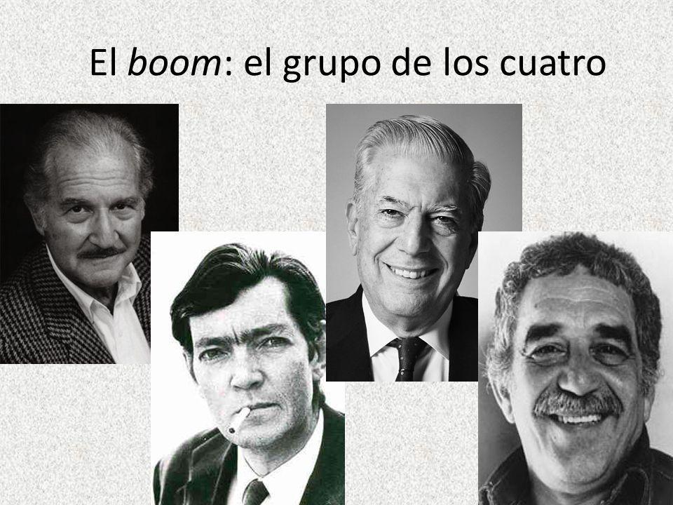 El boom: el grupo de los cuatro