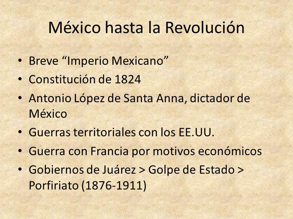 Santa Anna Benito Juárez