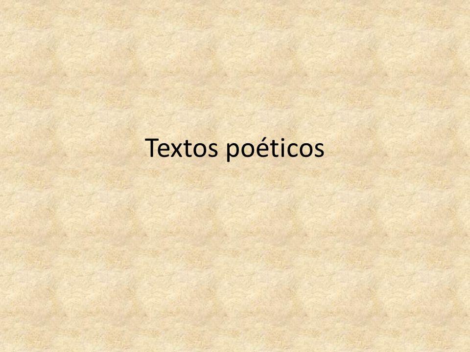 Textos poéticos