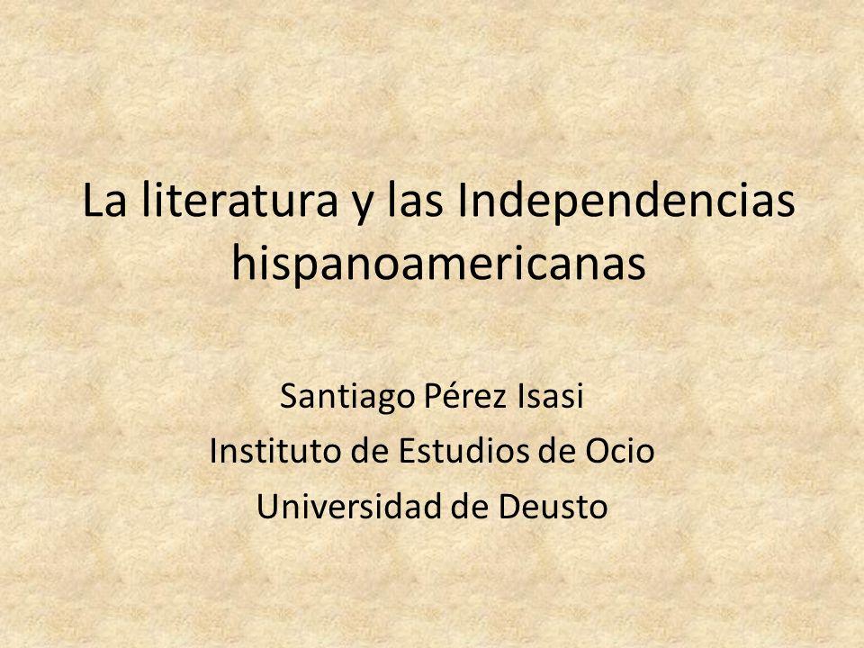 Y en las próximas semanas 29 de febrero: La Independencia de Hispanoamérica.