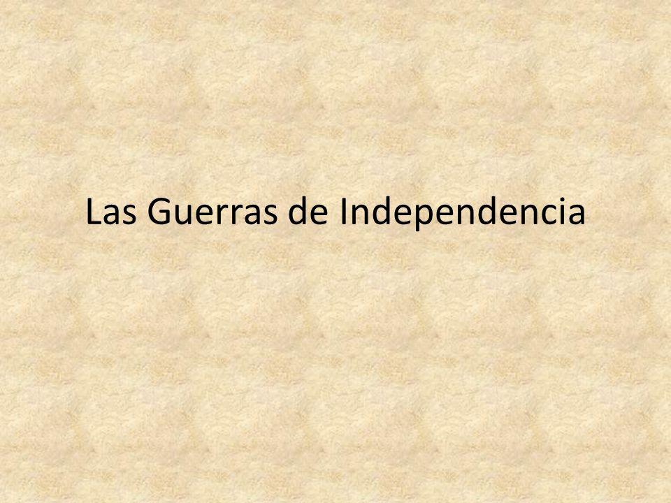 Causas – Descontento de la clase media-alta criolla – Expansión de las ideas liberales y democráticas – Debilidad de la metrópoli – Falta de apoyos internacionales a España Antecedentes – Independencia de EE.UU.