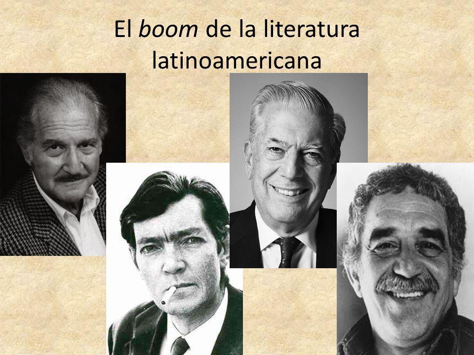 El boom de la literatura latinoamericana
