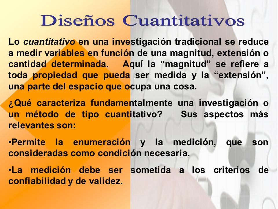 EXPLORATORIOS DESCRIPTIVOS EXPERIMENTALES CUASI – EXPERIMENTALES CORRELACIONAL