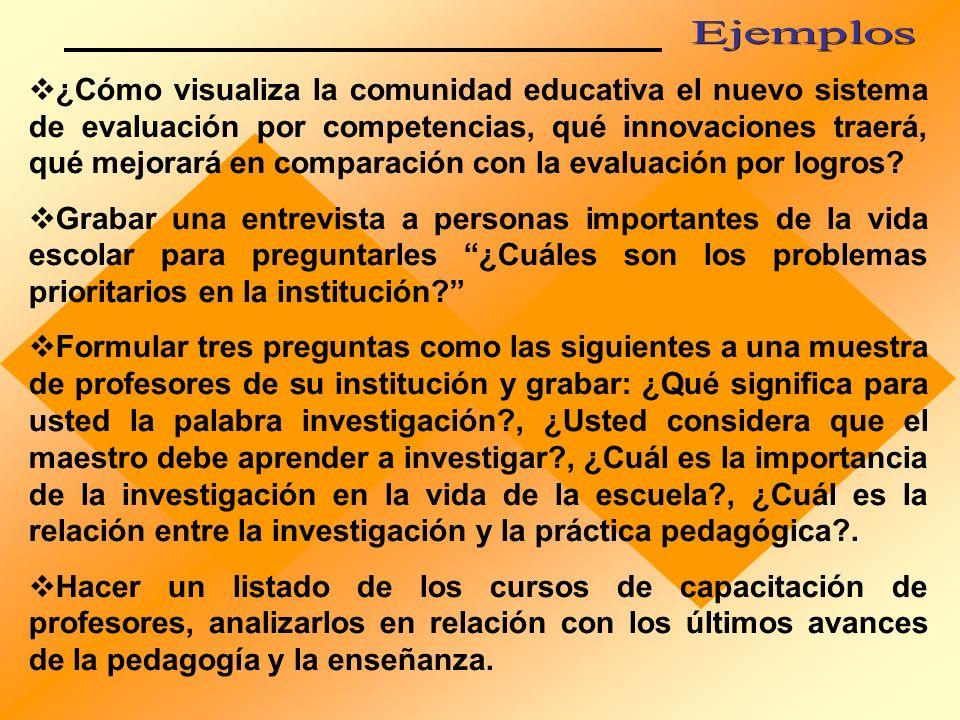 La construcción curricular es un proceso investigativo.