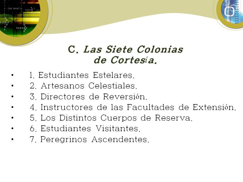 C.Las Siete Colonias de Cortes í a. 1. Estudiantes Estelares.