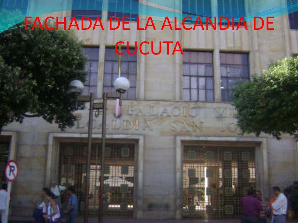 FACHADA DE LA ALCANDIA DE CUCUTA