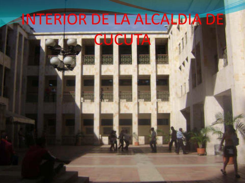 INTERIOR DE LA ALCALDIA DE CUCUTA
