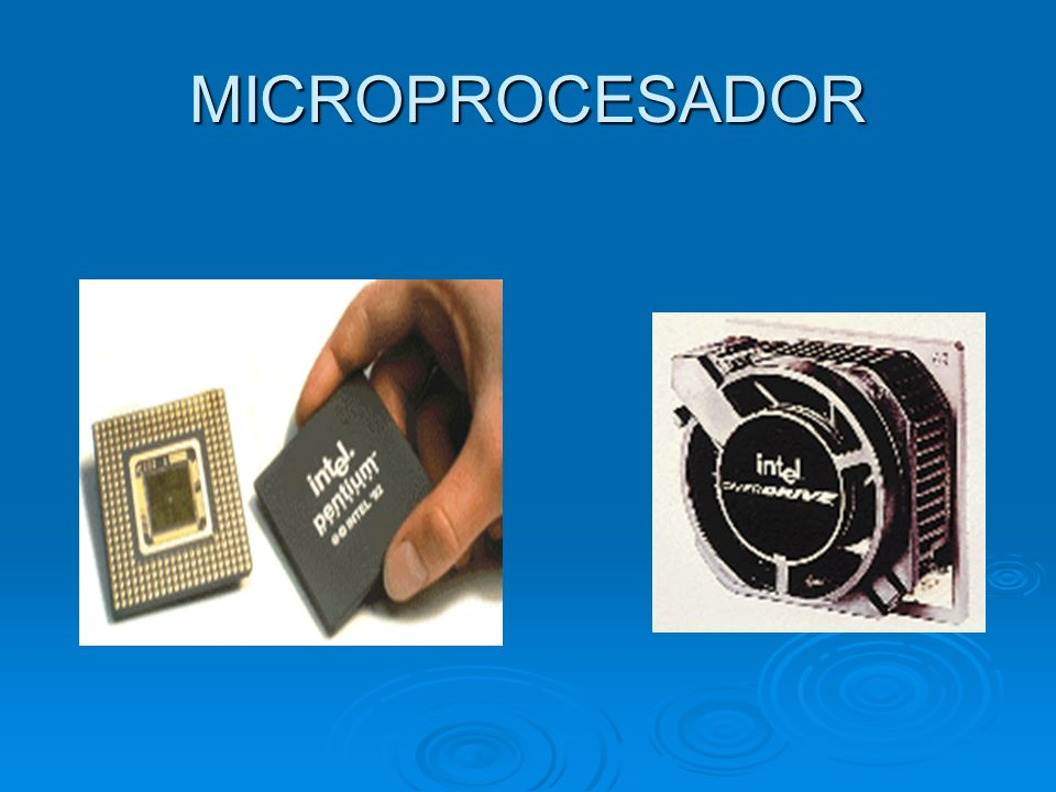 La unidad de procesamiento central La unidad de procesamiento central (CPU) es donde se manipulan los datos.
