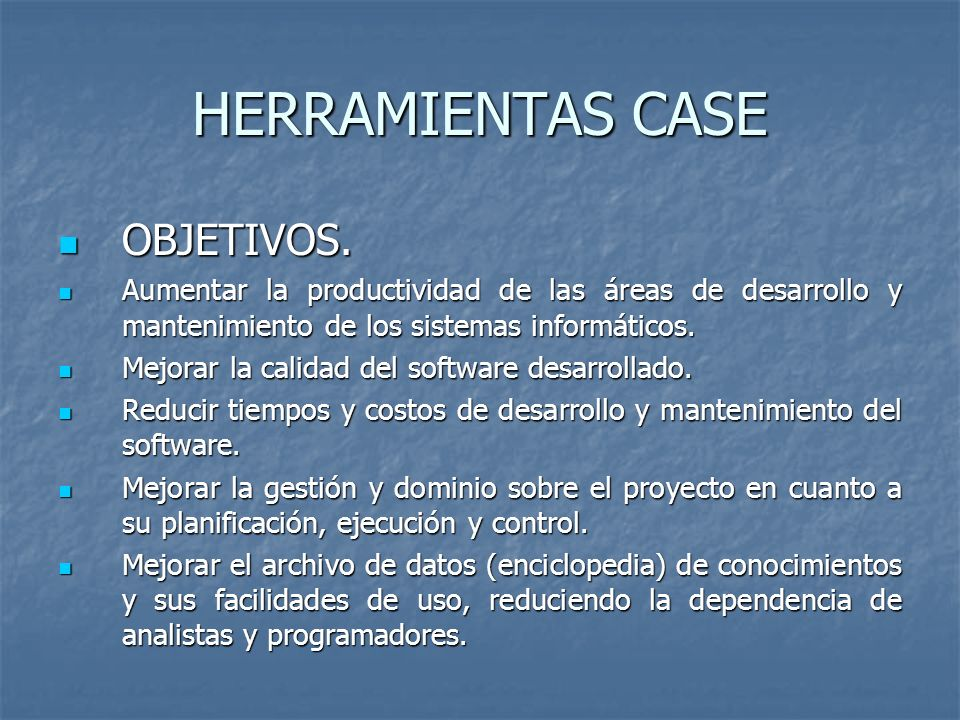 ETAPAS DEL METODO CASE DOCUMENTACION.DOCUMENTACION.
