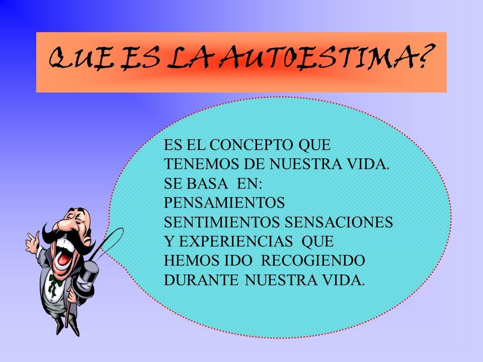 ACTUARA INDEPENDIENTEMENTE ASUMIRA SUS RESPONSABILIDADES AFRONTARA NUEVOS RETOS CON ENTUSIASMO SE SENTIRA CAPAZ DE INFLUIR EN OTROS TOLERARA BIEN LA FRUSTRACION DEMOSTRARA AMPLITUD DE EMOCIONES Y SENTIMIENTOS ESTARA ORGULLOSO DE SUS LOGROS UN ADOLECENTE CON AUTESTIMA