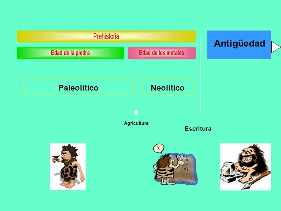 La Prehistoria El término prehistoria designa el período de tiempo transcurrido desde la aparición del primer ser humano hasta la invención de la escritura, según otros autores, la aparición del Estado.
