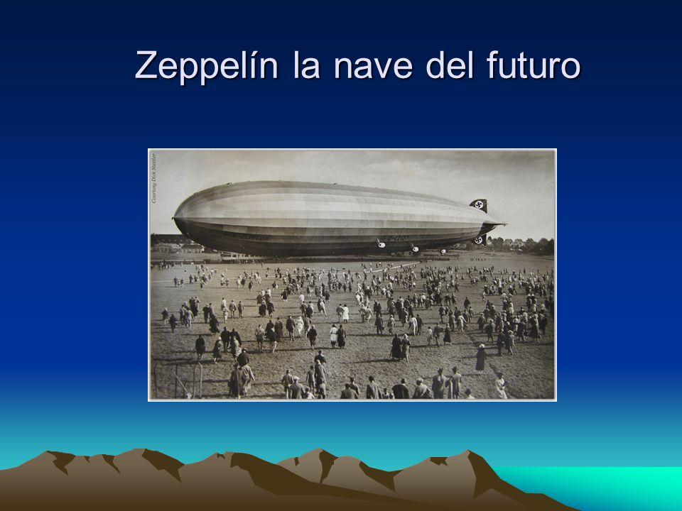 Zeppelín la nave del futuro