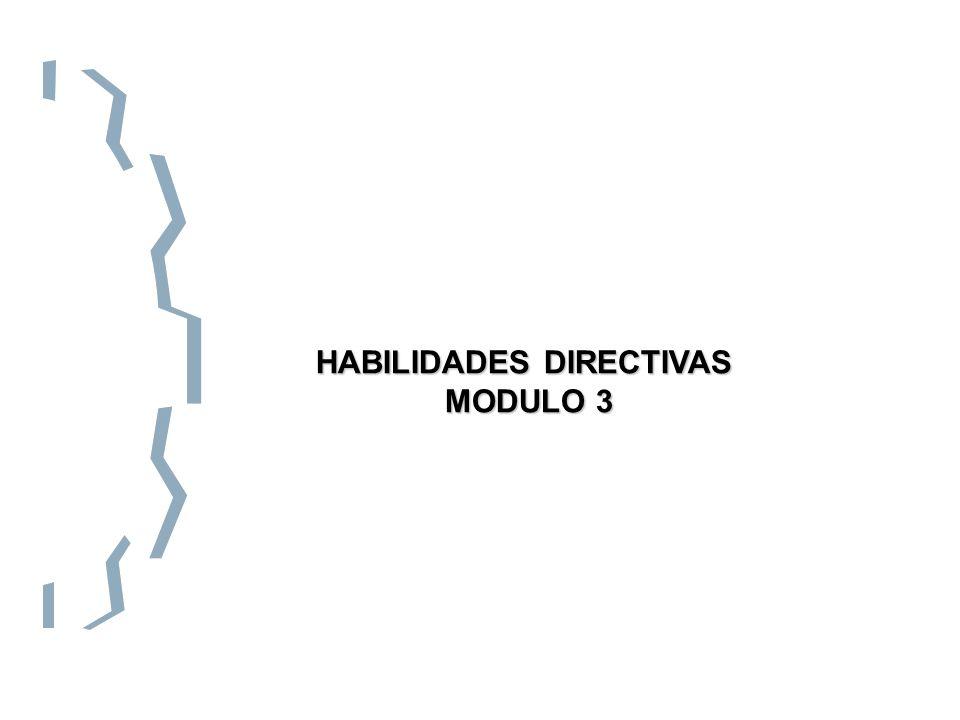 HABILIDADES DIRECTIVAS MODULO 3