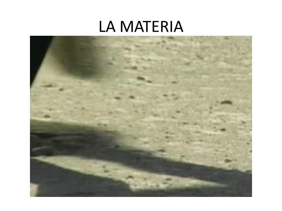 PROPIEDADES DE LA MATERIA SON AQUELLAS QUE NOS PERMITEN IDENTIFICAR O CARACTERIZAR UNA SUSTANCIA, Y DISTINGUIRLA DE OTRAS EJEMPLO COLOR OLOR DENSIDAD ESTADO FÍSICO P.FUSIÓN Y EBULLICIÓN